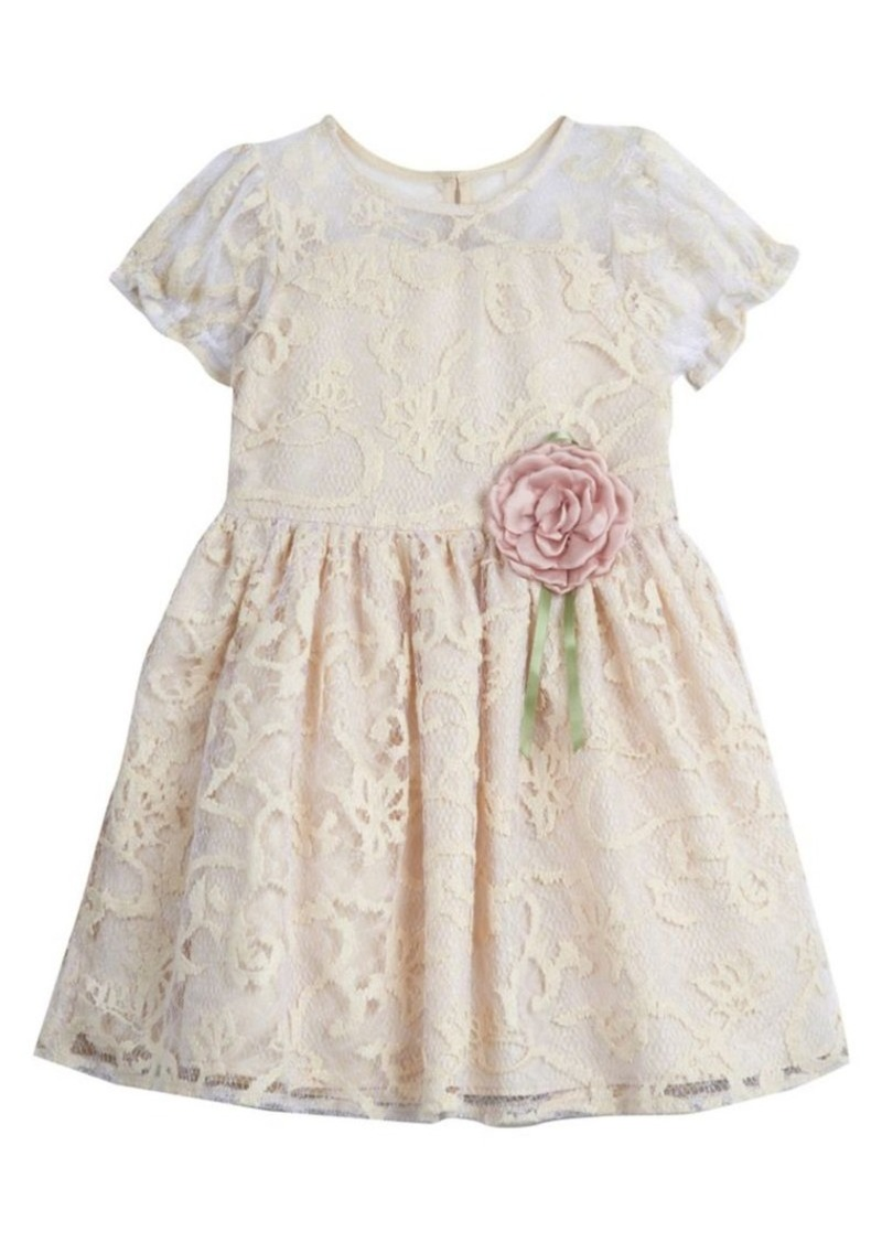 Laura Ashley Little Girl's Lace Dress
