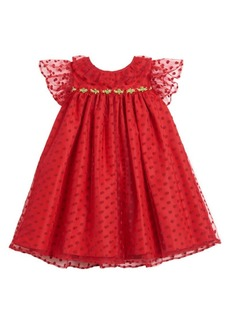 Laura Ashley Little Girl's Polka Dot Dress