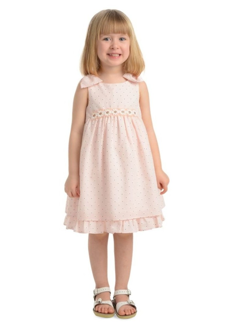 Laura Ashley Little Girl's Printed Party Dress