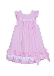 Laura Ashley London Baby Girl's Ruffle Hem Dress