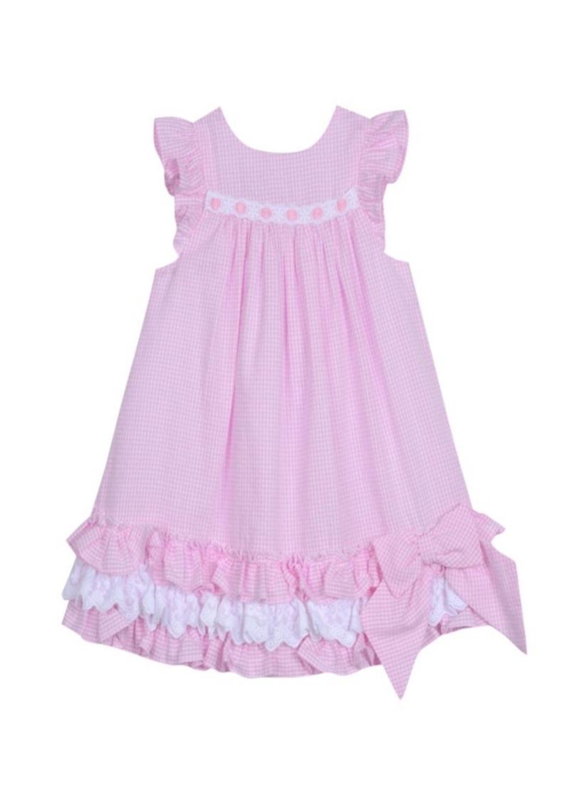Laura Ashley London Baby Girl's Ruffle Hem Dress
