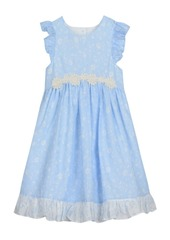 Laura Ashley London Baby Girl's Ruffle Sleeve Party Dress