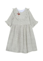 Laura Ashley London Girl's Bell Sleeve Dress