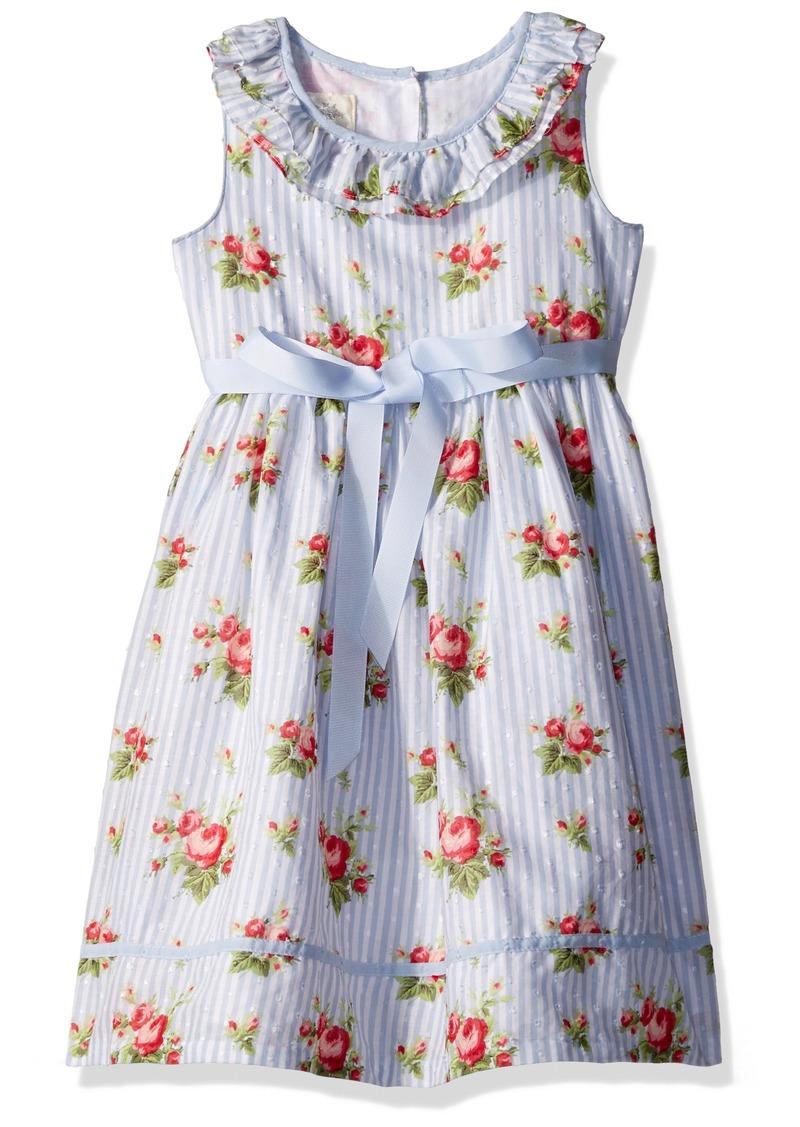 ecb5dff47 Laura Ashley Laura Ashley London Girls' Little Ruffle Collar Party ...