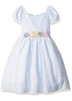 Laura Ashley London Girls' Little Sweet Lace Dress