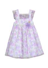 Laura Ashley London Girl's Ruffle Sleeve Party Dress