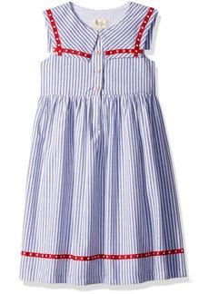 Laura Ashley London Girls' Little Nautical Cotton Dress