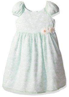 Laura Ashley London Little Girls' Puff Sleeve Party Dress