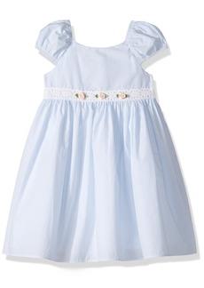 Laura Ashley London Little Girls' Seersucker Stripe Dress