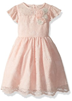 Laura Ashley London Little Girls' Sweet Lace Dress