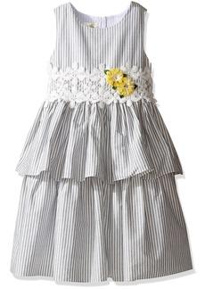 Laura Ashley London Little Girls' Tiered Skirt Dress