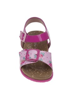 Laura Ashley's Every Step Flower Cork Lining Sandals