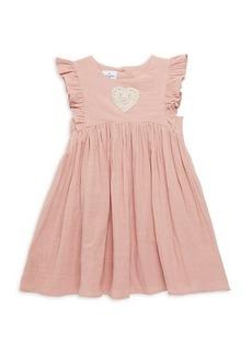Laura Ashley Little Girl's Double Gauze Cotton Float Dress