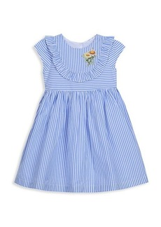 Laura Ashley Little Girl's Pinstripe Dress