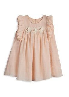 Laura Ashley Little Girl's Textured Chiffon Dress