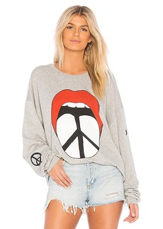 Lauren Moshi Babbs Boyfriend Sweatshirt