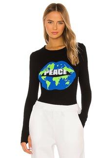 Lauren Moshi Mckinley X World Peace Lips Tee