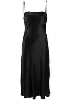 Le Kasha Hotan open-back silk dress