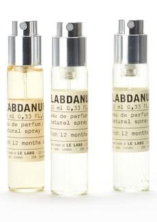 Le Labo Labdanum 18 Eau de Parfum Travel Tube Refill Trio