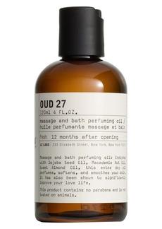 Le Labo 'Oud 27' Body Oil