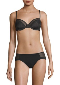 Le Mystere Shine and Sheer Demi Bra