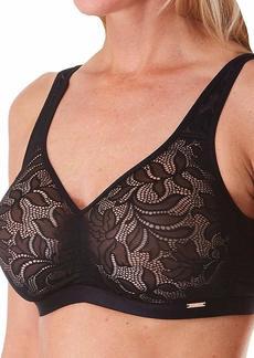 Le Mystere Women's Modern Classics Wireless Bra Seamless Stretch Lace
