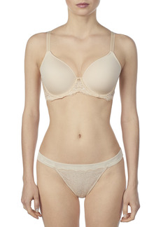 Le Mystere Women's Transformative Tisha T-Shirt Bra Transformative Lift and Support with Hybrid Memory Foam Cups