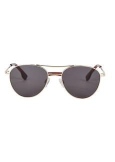 Le Specs Alter Ego Aviator Sunglasses