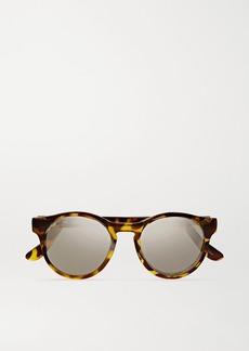 Le Specs Hey Macarena Round-frame Acetate Sunglasses