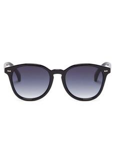 Le Specs Bandwagon round sunglasses