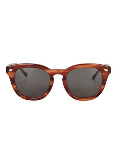 Le Specs Over & Over Round Sunglasses
