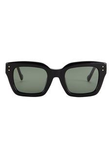 Le Specs Skeptic Square Sunglasses