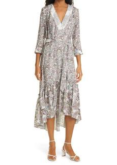 Women's Le Superbe Diamond Life High/low Belted Midi Dress