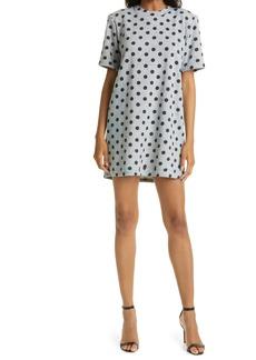Women's Le Superbe Easy Dots It Long Sleeve Cotton Blend Dress