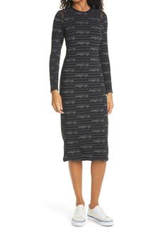 Women's Le Superbe Enjoy Yourself Kate Long Sleeve Knit Dress
