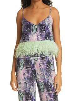 Women's Le Superbe Minted Feather Camisole