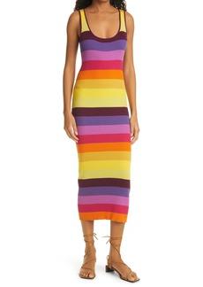 Women's Le Superbe Prismatic Ribbed Tank Dress