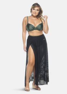 Lehona Long Slit Laced Skirt - 26 - Also in: 24, 18, 22, 28