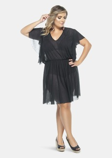Lehona Sleeved Dress - 22 - Also in: 26, 24, 16, 18
