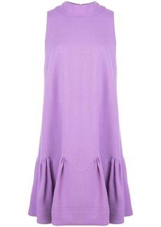 Lela Rose bow neck short dress