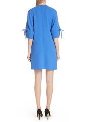 Lela Rose Bow Sleeve Tunic Dress