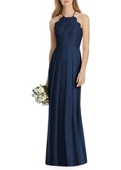 Lela Rose Bridesmaid Lux Chiffon Dress