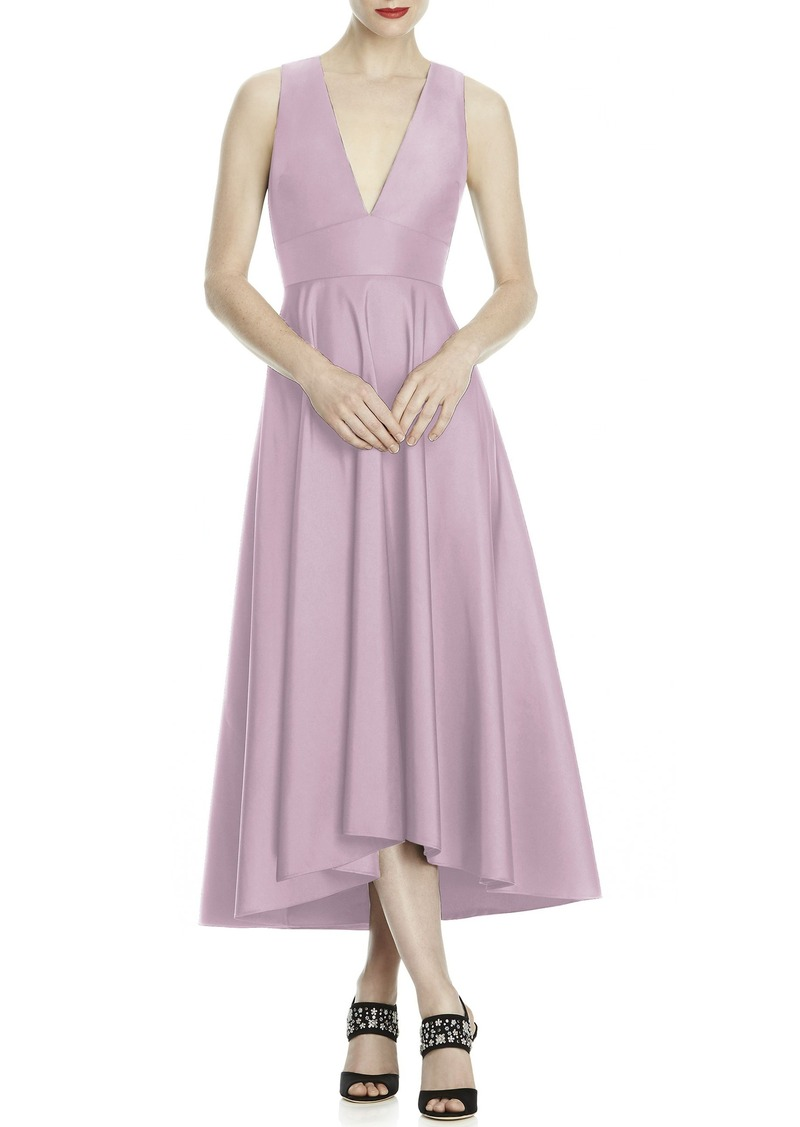 Lela Rose Lela Rose Bridesmaid Mikado High/Low Midi Gown | Dresses