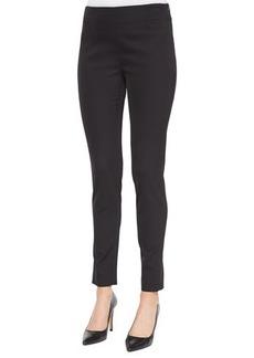 Lela Rose Catherine Side-Zip Pants