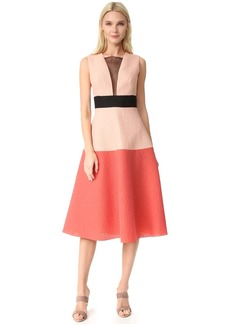Lela Rose Colorblock Dress