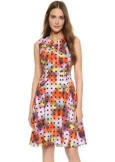 Lela Rose Drop Waist Dress