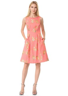 Lela Rose Full Skirt Sheath Dress