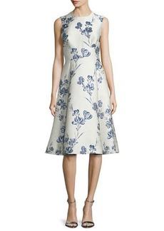 Lela Rose Juliet A-Line Dress