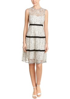 Lela Rose Lela Rose Silk-Lined A-Line Dress
