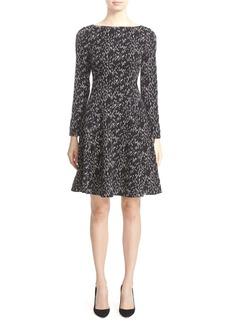 Lela Rose 'Minnow' Print Fit & Flare Dress